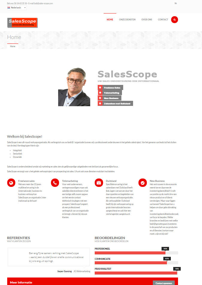 Website SalesScope