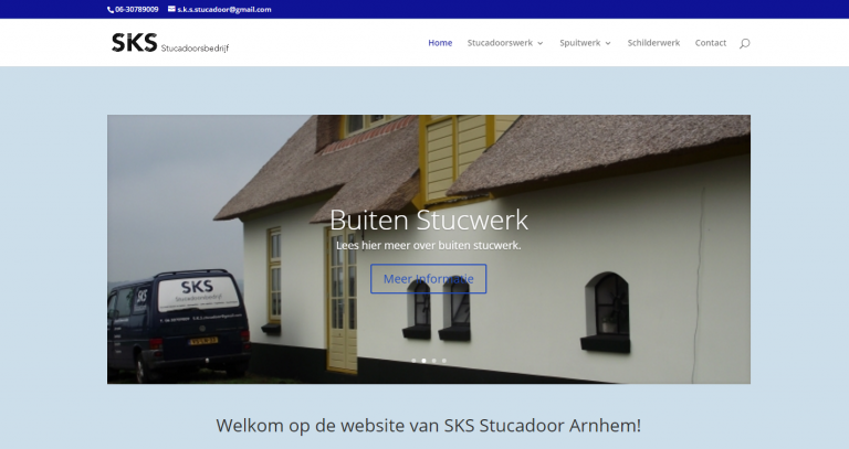 Website SKS Stucadoors